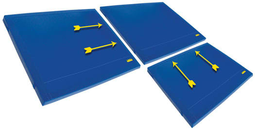 Gymnastic Mats: Modular Landing Mats