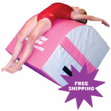 Tumbling Trainer in Pink