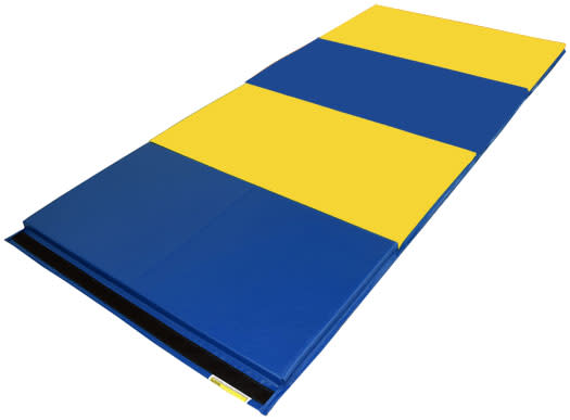 SoftPlay ElementaryTumbling Mat Blue/Yellow.
