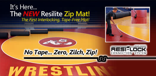 LiteWeight Wrestling Zip Mats