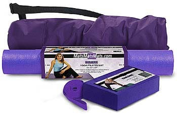 Yoga Kit - Complete Set with Deluxe Yoga Mat