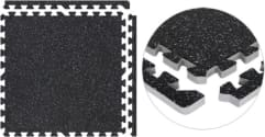 SoftRubber Exercise Flooring Tiles