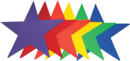 Poly Pads - Rainbow Stars (Set of 6)