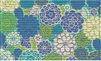 3D Impressions Mat - Zinna Blossoms