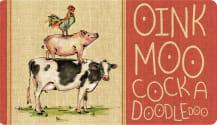Cushion Comfort Kitchen Mat - Oink Moo Cockadoodle Doo