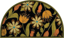 Masterpiece Mat - Floral Half Round