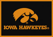 Iowa Hawkeyes - Sports Team Rug