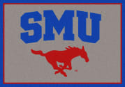 Southern Methodist (SMU) Mustangs - Sports Team Rug