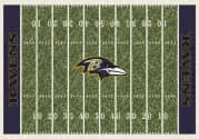 Baltimore Ravens - Sports Team Rug