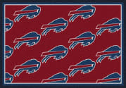 Buffalo Bills (Red Background) - Sports Team Rug