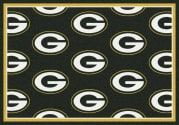 Green Bay Packers (Green Background) - Sports Team Rug