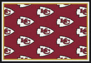 Kansas City Chiefs (Red Background) - Sports Team Rug