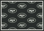 New York Jets (Green Background) - Sports Team Rug