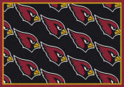Arizona Cardinals (Black Background) - Sports Team Rug