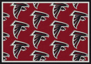 Atlanta Falcons (Red Background) - Sports Team Rug
