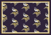 Minnesota Vikings (Purple Background) - Sports Team Rug
