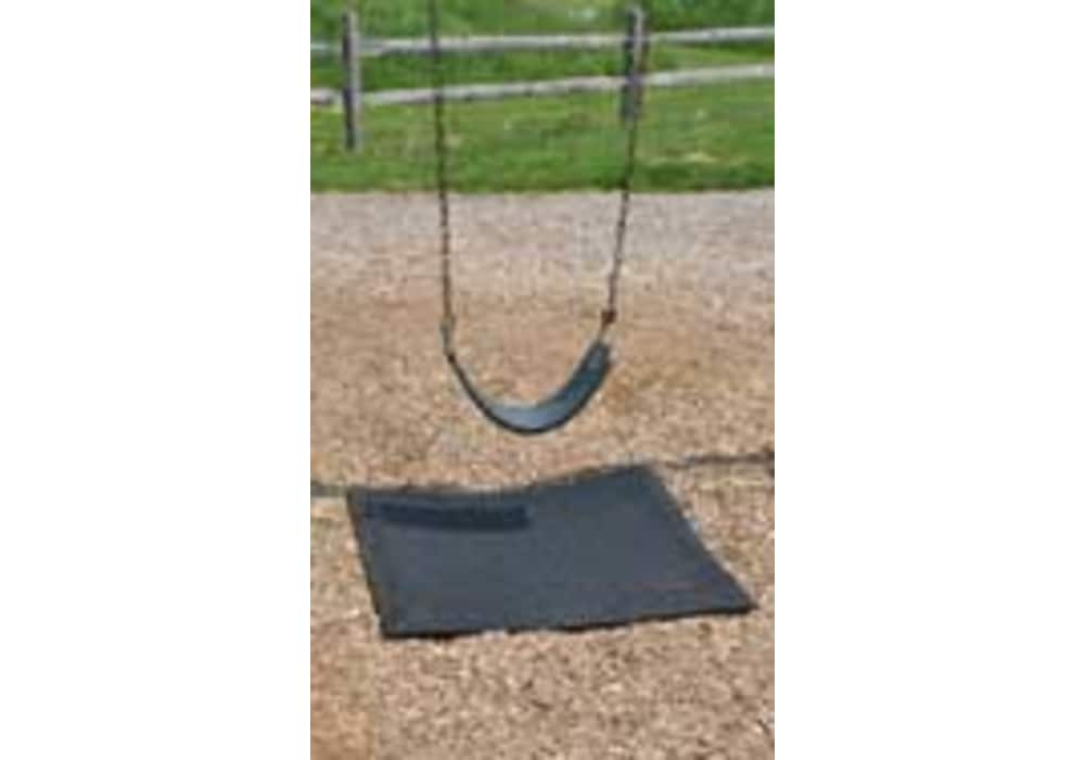 Rubber Swing Mats And Slide Mat