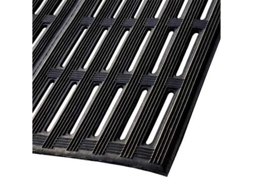 """Counter-Tred Rubber Drainage Mat (1/2"""")"""
