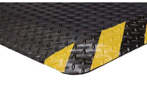 "Supreme Diamond Fatigue Mat with Safety Borders (11/16"")"