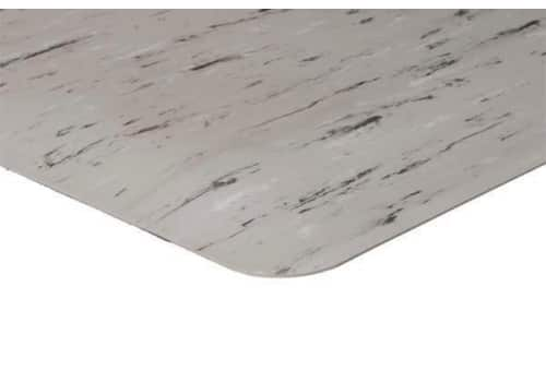K Marble Anti Fatigue Mat With Smooth Hard Top For Chairs
