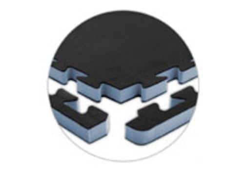 "2'x2'x1"" - Mini-Jumbo Gym Floor Interlocking Foam Tiles"