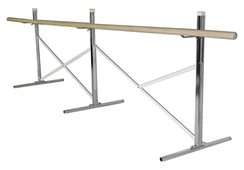 Portable Ballet Bar, Single Barre, 10', 14', 16' or Custom by Alvas