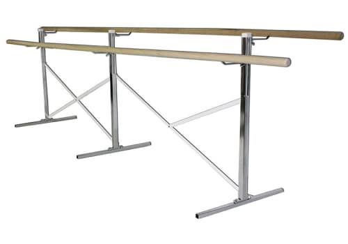 Portable Ballet Bar, Double Barres, 10', 14', 16' or Custom by Alvas