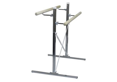 Portable Ballet Bar, Double Barres, 4', 6', 8' or Custom by Alvas