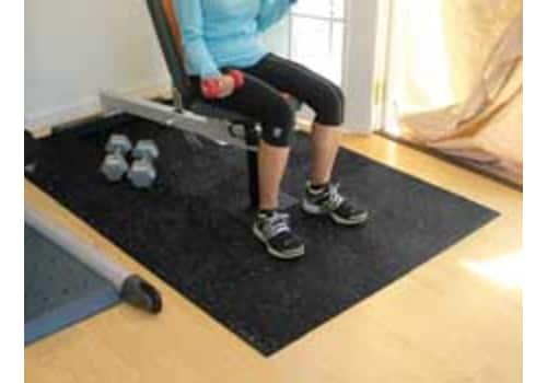 Sports Flooring Interlocking Rubber Tiles