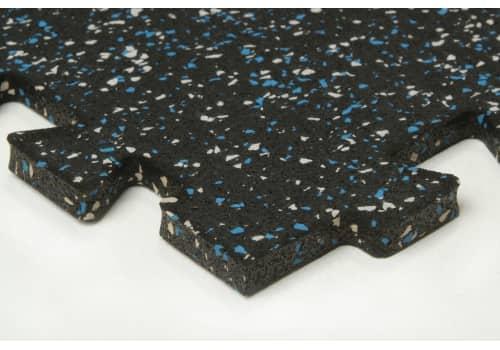 Tuff-n-easy interlocking rubber tiles