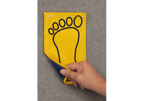 Poly Pads - Hands and Feet with Hook Connector (like Velcro)