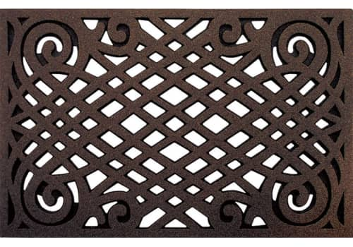 CleanScrape Mat -  Celtic Lattice Coffee