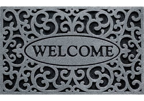 Clean Scrape Doormat -  Welcome Iron