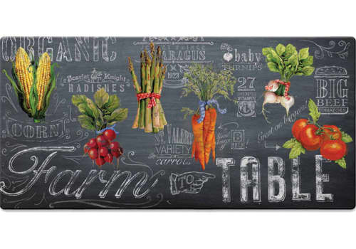 Cushion Comfort Kitchen Mat - Farm To Table