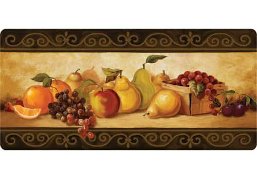 Cushion Comfort Kitchen Mat - Gourmet Fruit