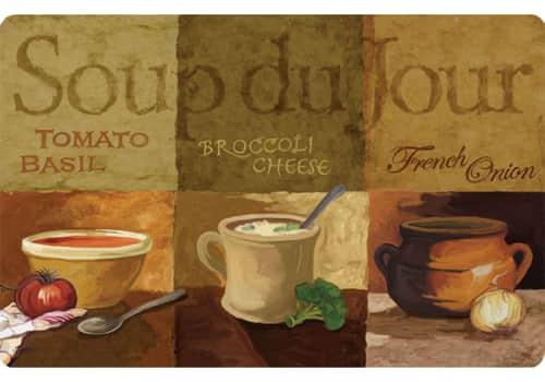 Cushion Comfort Kitchen Mat - Soup De Jour