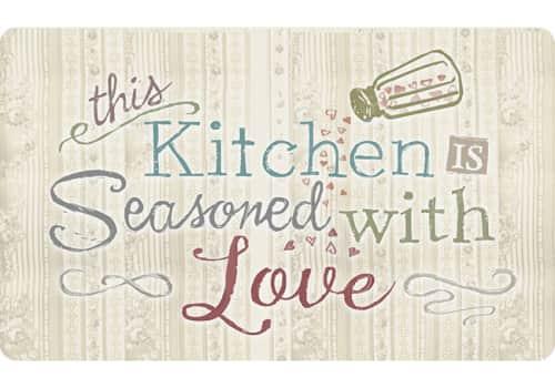 Cushion Comfort Kitchen Mat - Seasoned With Love