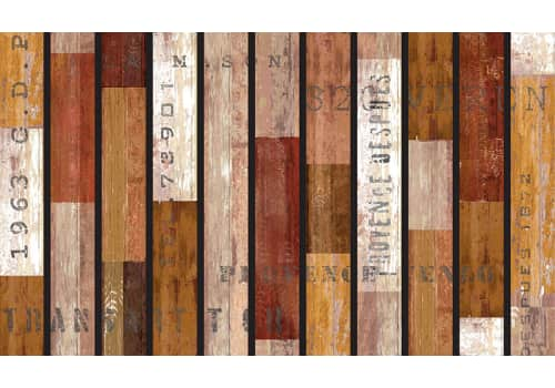 Masterpiece Mat - Rustic Wood Slats