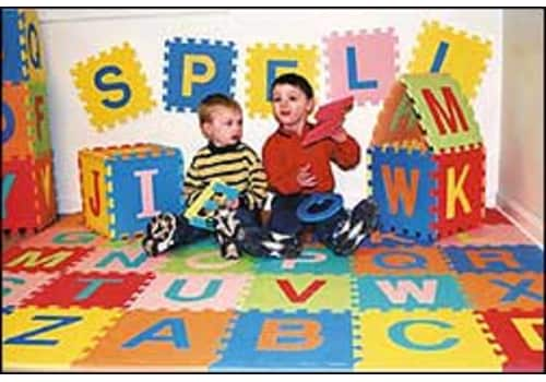 Kids ABC & Numbers Foam Puzzle Mat