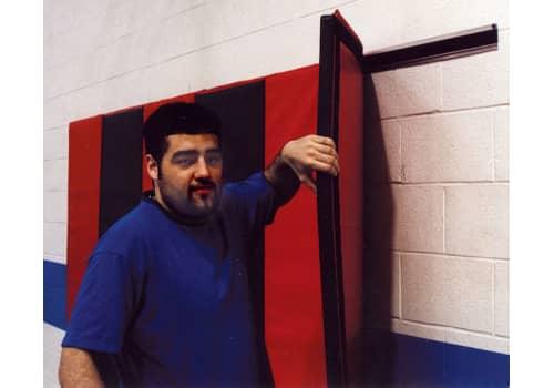 Wall Padding Mat Hanger