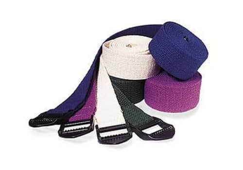 Yoga Strap with Buckle or D-Ring