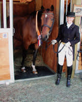 Horse Stall Mats Made of 100% Recycled Rubber