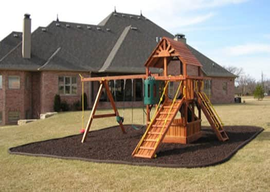 Rubber Border Edging for Playgrounds