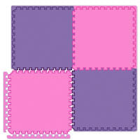 Pink Interlocking Floor Mats