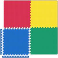 Garage Floor Tiles - Red/Yellow/Blue/Green