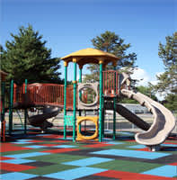 EPDM Rubber Playground Surface Tiles