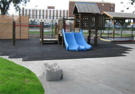 Bounce Back Rubber Interlocking Playground Tiles