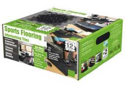 Rubber Sports Flooring - Interlocking Rubber Floor Tiles