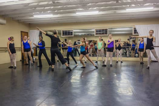 General Purpose Studio Dance Floor for all forms of dance