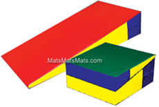 Folding Incline Mat For Gymnastics